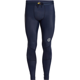 Skins Series-3 Long Tights Men, navy blue